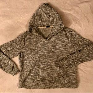 Brandy Melville heather grey hoodie